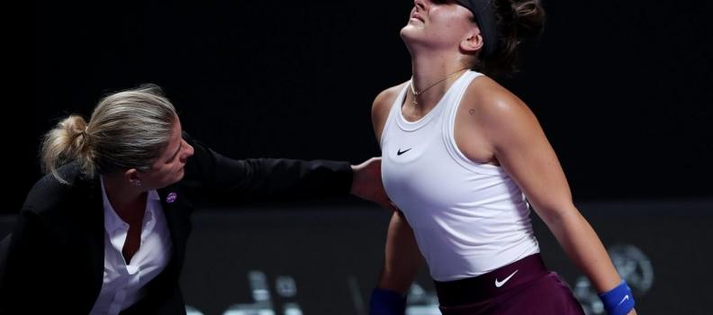 Andreescu Retires At WTA Finals