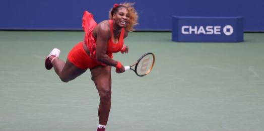 Serena Williams scraps through Margarita Gasparyan for All-US clash