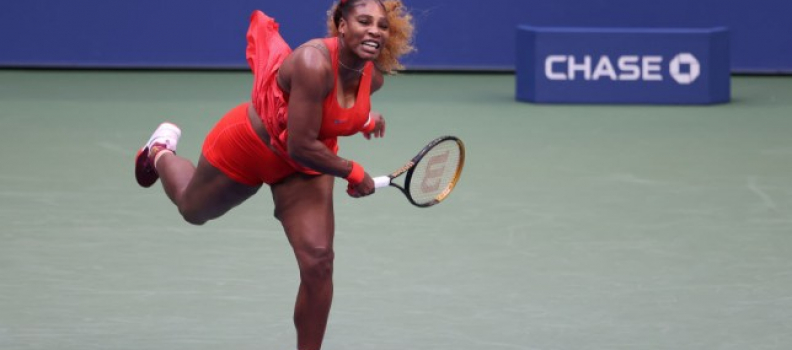 Serena Williams scraps through Margarita Gasparyan for All-US clash